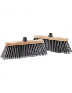 Scope per pulizia esterni Perfetto - coccia in legno - 0020B
