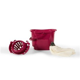 Secchio con strizzatore - Perfetto - 0470A colore porpora