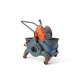 Carrello pulizie industriali Perfetto - 2x25 l - 26700
