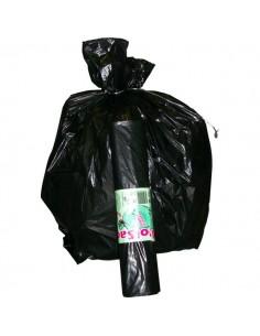 Sacchi per immondizia Cagliplast - 50x60 cm - 30 l - 16 µm - nero - 10240 (conf.20)