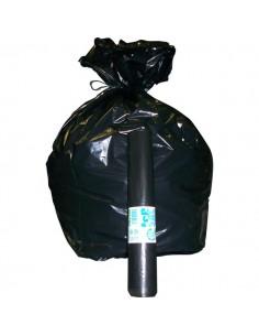 Sacchi per immondizia Cagliplast - 85x120cm-130l-60µm -nero fondo piatto antigoccia- 10087 (conf.20)