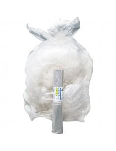 Sacchi immondizia differenziata Cagliplast - 50x60 cm - 30 l - 21 µm - trasparente - 10064 (conf.20)