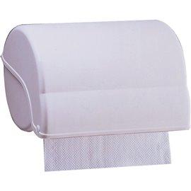 Distributore di carta asciugamani in rotolo orizzontale QTS - 27,5x19x20,5 cm - 4000/NEL