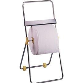 Dispenser per bobine QTS - da terra - Cromato - 47x92x46,5 cm - Ø 45 x L 30 - 4095/TOO