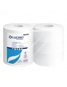 Carta igienica pura cellulosa Maxi jumbo Lucart - 2 veli - 360 m 812102 (conf.6)