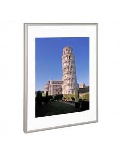 Cornice in alluminio Paperflow - 29,7x42 cm - orizzontale/verticale - K900212