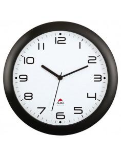 Orologio da parete Easy Time Alba - nero - Ø 30 cm - HORNEW N