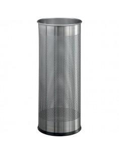 Portaombrelli in metallo traforato Durable - argento - Ø 26 H 62 cm - 3350-23