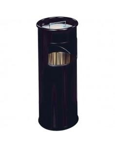Posacenere in metallo con sabbia Durable - nero - 62 cm - 26 cm - 3330-01