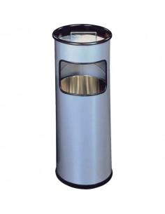 Posacenere in metallo con sabbia Durable - argento - 62 cm - 26 cm - 3330-23