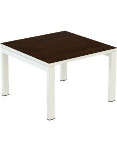 Tavolino per sala d'attesa o reception Paperflow - wengé - K440040