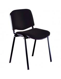 Sedia visitatore Agata UNISIT - acrilico - nero - D5S/4/EN (conf.4)