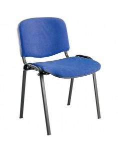 Sedia visitatore Agata UNISIT - acrilico - blu - D5S/4/EB (conf.4)