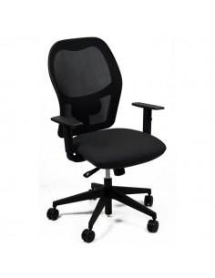 Sedia operativa ergonomica Ostuni Unisit - Nera/Nera - HUHU/BR/EN