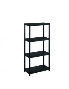 Scaffalature Modulo Terry Store Age - 4 ripiani - 25 kg - 60x30x132 cm - 1001610