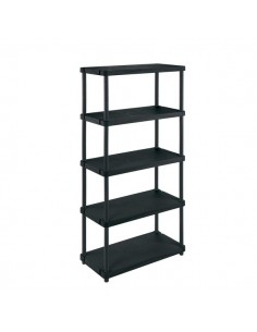 Scaffalature Modulo Terry Store Age - 5 ripiani - 45 kg - 80x40x173,4 cm/160x40x92,5 cm - 1002694