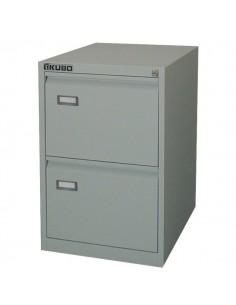 Classificatori Kubo - grigio - 2 cassetti - 46x62x70,4 cm- 4002