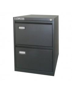 Classificatori Kubo - nero - 2 cassetti - 46x62x70,4 cm - 4102