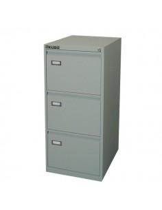 Classificatori Kubo - grigio - 3 cassetti - 47x62x101 cm - 4003