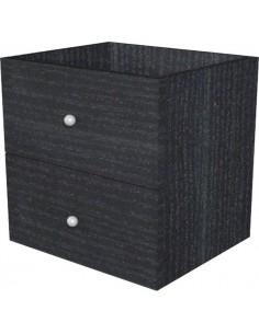 2 cassetti per libreria caselle Maxicube Nero Artexport - 32,5x28,8 cm x32,5 cm - 2c MaxC/8