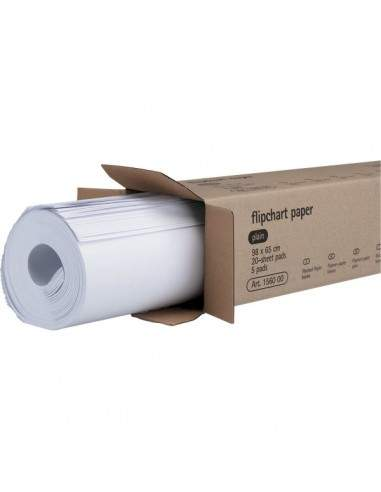 Blocchi per lavagna Legamaster - bianco - 98x65 cm - 1560 00 (conf.5)