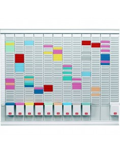 Professional Planner con schede a T Nobo - 80x66 cm - 32938864