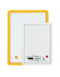 Lavagnette magnetiche Arda - bianco - 35x50 cm - 330B