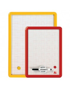 Lavagnette magnetiche Arda - quadrettato - 35x50 cm - 330Q