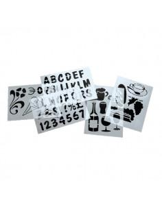 Stencil Securit - SECSTN-5 (conf.6)