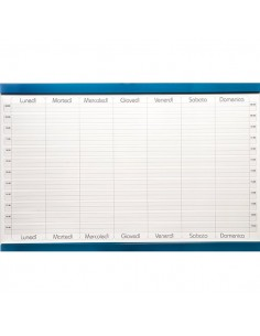 Planning magnetico 5 Star - settimanale - 60x90 cm - GR 451