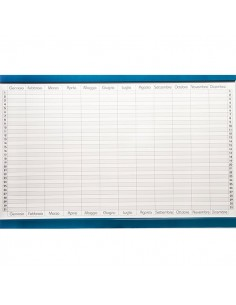 Planning magnetico 5 Star - annuale - 60x90 cm - GR 452