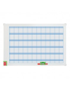 Planning magnetico Performance Nobo - annuale - 60x90 cm - 3048001