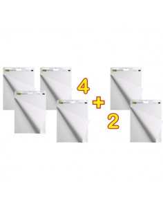 Promo Pack 4+2 gratis Post-it Meeting Charts 559 bianco - 69978