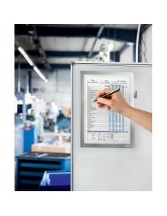 Cornice magnetiche Duraframe® Durable - A4 - argento metallizzato - 4989-23