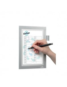 Cornice Duraframe® Note Durable - A5 - argento metallizzato - 4994-23