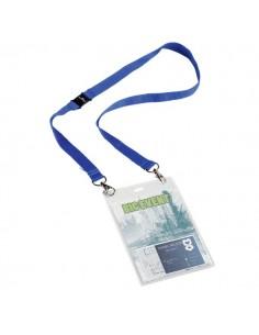 Portanome Maxi A6 Durable - blu - 10,5 x 14,8 cm - 8525-07 (conf.10)