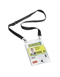 Portanome Maxi A6 Durable - Portanome Con Busta A6 E Cordoncino Duo - 10,5x14,8 cm - 8525-01 (Conf.10)