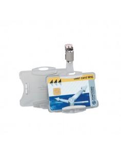 Portabadge per carte magnetiche Durable - 8,5x5,4 cm - 8118-19 (conf.25)