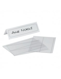 Portanome da tavolo Durable - 6,1/12,2x21 cm - 8048-19 (conf.10)