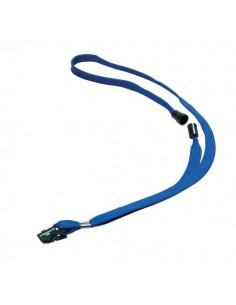 Cordoncino in tessuto Durable - blu - 44 cm - 8119-07 (conf.10)
