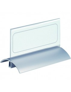 Portanome da tavolo Desk Presenter De Luxe Durable - 15x6,1 cm - 8201-19 (conf.2)