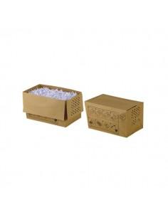 Sacchi per distruggidocumenti in carta riciclata Rexel - 32 l - 1765031EU (conf.20)
