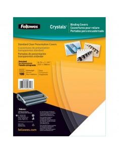 Copertine in PVC per rilegatura Fellowes - A4 - 150 my - trasparente - 5376001 (conf.100)
