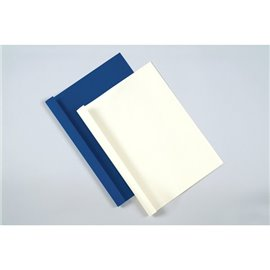Cartelline termiche A4 Fellowes - goffrata - d.1,5mm - 8 fogli - blu - 53171 (conf.100)