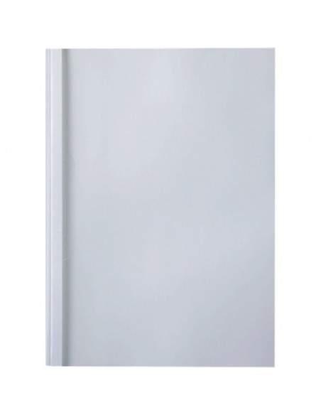 Cartelline termiche GBC - goffrata - 6 mm - 50 fogli - trasp./bianco - IB451737 (conf.100)