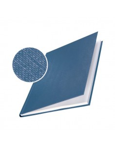 Copertine rigide Leitz - 176-210 fogli - blu marina - 73950035 (conf.10)