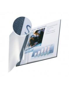 Copertine flessibili con fronte trasparente Esselte - 10-35 fogli - blu marina - 73980035 (conf.10)