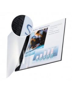 Copertine flessibili con fronte trasparente Esselte - 10-35 ff - nero antracite - 73980095 (conf.10)