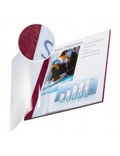 Copertine flessibili con fronte trasparente Esselte - 106-140 ff -rosso scarlatto-74150028 (conf.10)