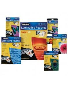 Pouches per plastificatrici Fellowes - 125 micron per lato - A2 - lucida - 5309302 (conf.50)
